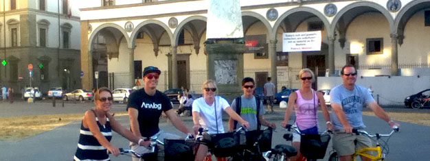 Taste the flavors of Florence on a bike tour through the city! Children between age 3-5 are free. Book your tickets for this fun and alternative tour here.