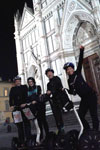Segway aftentur i Firenze