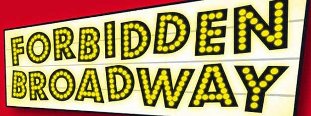 Forbidden Broadway i London. FORBIDDEN BROADWAY er en ustoppelig kraft på Broadways teatre siden 1982. Bestil dine billetter til FORBIDDEN BROADWAY her!