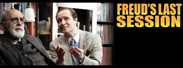 Tickets to the succeesful play Freud's Last Session on Broadway in New York can be booked here. Do not miss Freud's Last Session when in New York!