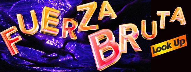 """Nie można odwiedzić """"the Big Apple"""" i nie zobaczyć show Fuerza Bruta na Broadwayu. U nas kupisz bilety na Fuerza Bruta w Nowym Jorku!"""