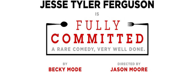 Emmy Award nominee Jesse Tyler Ferguson return to Broadway as more than 40 outrageous characters in the smash hit comedy Fully Committed. Book tickets here!