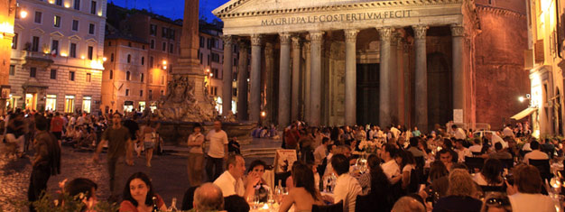 Go ghost hunting in Rome on this 2-hour evening walking tour! Hear stories about mysterious legends and interesting myths. Book your tickets online!