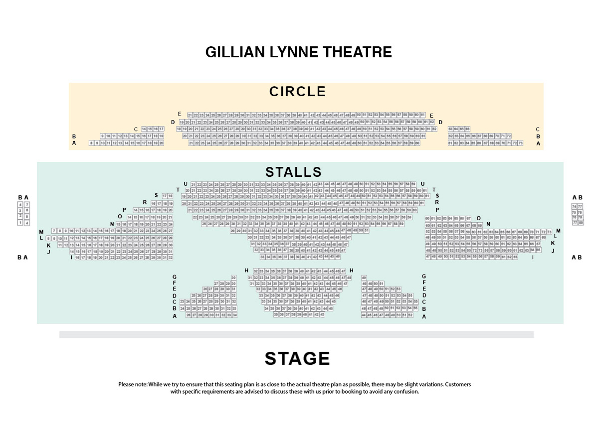 Gillian Lynne Theatre formerly known as the New London