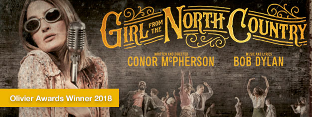 Enjoy the world premiere of Girl From the North Country live in London, an electrifying new work with classic songs from Bob Dylan. Book tickets here!