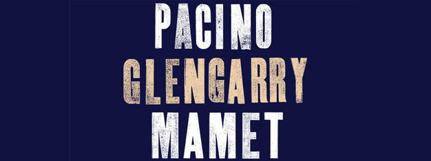 Glengarry Glen Ross on Broadway in New York starring Al Pacino in the leading role. Tickets for Glengarry Glen Ross on Broadway in New York with Al Pacino here!