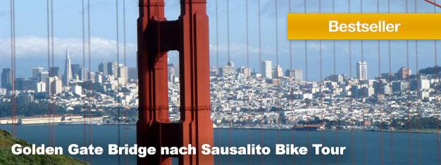 Diese Fahrradtour geht los in Fisherman´s Wharf und nimmt Sie mit entlang der Küste wo Sie Seelöwen, Delphine, militärische Festungen und vieles mehr sehen. Jetzt buchen!