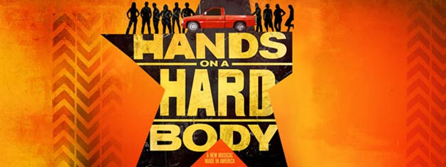 Hands on a Hardbody er en helt ny og meget morsom musical på Broadway i New York. Billetter til Hands on a Hardbody i New York kan bestilles her!
