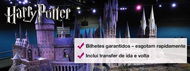 Descubra os estúdios onde Harry Potter ganhou vida nesta visita por trás dos bastidores. Reserve online para evitar as filas na bilheteria e embarque no Expresso de Hogwarts!
