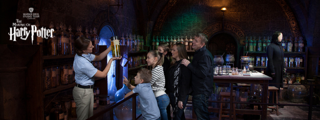 Join this unique fully-guided tour at Warner Bros. Studio Tour London. See the original sets, props & costumes from the Harry Potter films. Book online!