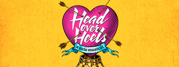 Head Over Heels is the fearlessly fresh new musical comedy on Broadway in New York. Book your tickets for Head over Heels in New York here!