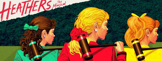 Heathers the Musical in New York is the story about a high school in Ohio ruled by three mean girls, Heather, Heather and Heather. Book your tickets here.