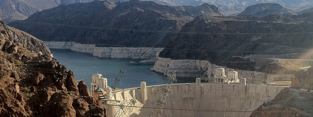 Tour the Hoover Dam and Lake Mead, including a tour of the dam, both above and below the surface, a cruise on Lake Mead and a tour of a chocolate factory.