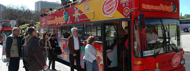Experience the biggest sights and attractions in Lisbon with the Hop-On Hop-Off sightseeing buses! Discover Lisbon, book your tickets here!