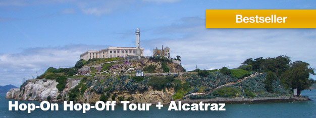 This 4-in-1 Hop-On Hop-Off package is the ultimate sightseeing experience in San Francisco. The package also includes a trip to Alcatraz Island. Buy online!