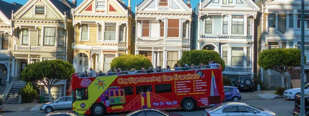 Experience San Francisco with a Hop-On Hop-Off bus. Highlights include the Golden Gate Bridge, Sausalito, a night tour and much more. Buy online here.