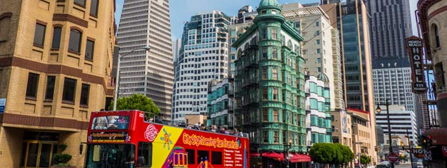 This 4-in-1 Hop-On Hop-Off package is the ultimate sightseeing experience in San Francisco. The package also includes 3 or 5 additional top attractions.