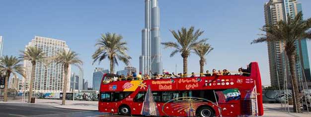 Réservez votre Hop-On Hop-Off billets de chez vous et soyez prêts à explorer Dubaï. Audioguides gratuits! Gratuit pour les enfants de moins de 5 ans.