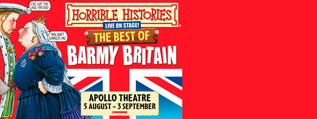 Time to prepare yourselves for a special production of Horrible Histories in London. Book your tickets now!