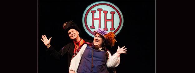 Så er det tid til at forberede sig på 'HORRIBLE HISTORIES' live på scenen i London med den anmelderroste produktion af BARMY BRITAIN! Billetter her!