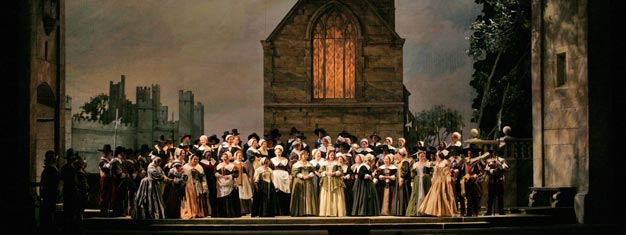 I Puritani is playing at the Metropolitan Opera House in New York. Book your tickets for I Puritani by Vincenzo Bellini here!
