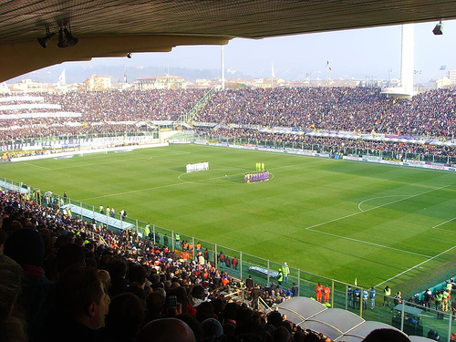 Stadio Artemio Franchi. ItalieVoetbal.nl
