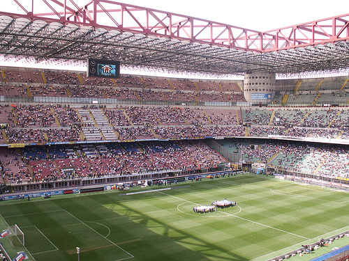 San Siro Meazza. ItalienFotboll.se