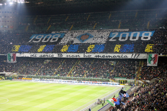 Stadio San Siro Meazza. ItalienFotboll.se