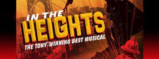 Découvrez un show incroyable récompensé par un Tony Award, In The Height, à West End, Londres. Une comédie musicale sur l'amour, les passions, les espoirs et les rêves.