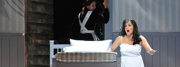 Iolanta / Bluebeard's Castle er to operaer i en. Den første Iolanta handler om en smuk blind pige, efterfulgt af thrilleren Bluebeard's Castle. Bestil nu!
