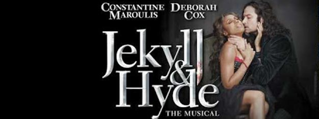 Jekyll & Hyde the Musical is back on Broadway in New York after a 4 year tour. Tickets to Jekyll and Hyde the Musical on Broadway in New York here!