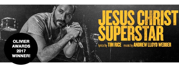 The legendary musical Jesus Christ Superstar returns to London in a powerful new production directed by Timothy Sheader. Book your tickets now!