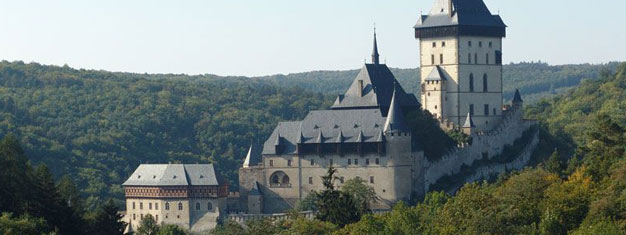 Karlstejn Castle outside Prague is a must see for all visitors of Prague. Buy tickets for Karlstejn Castle Tour here!