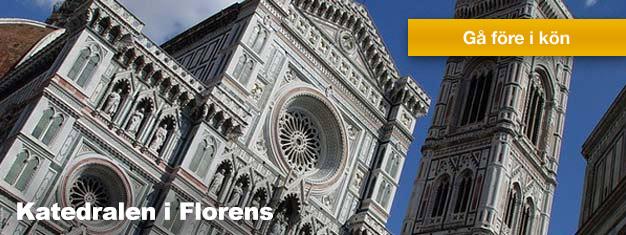Rundvisning i katedralen i Florens. Besök Duomo i Florens med guide. Boka biljetterna på FlorensBiljetter.se
