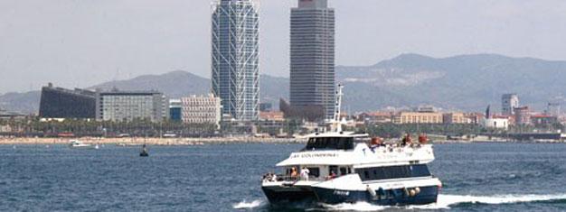 Ta en båttur i Barcelonas hamn och längs kusten med Las Golondrinas de Barcelona. Välj mellan två natursköna turer. Köp dina biljetter här!