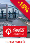 La grande tour London Eye : billet prioritaire