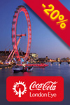 Bilietai į London Eye: Flexi Ticket