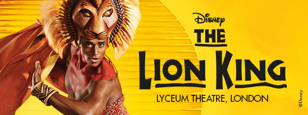 The Lion King in London is the astonishing Disney all family musical with music by Elton John. Buy theatre tickets for The Lion King in London here!