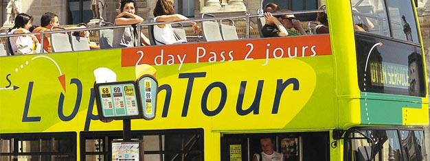 Tutustu Pariisiin Hop-On Hop-Off -bussilla, joka on helpoin ja joustavin tapa nähdä Pariisin nähtävyydet! 4 bussilinjaa ja yli 50 pysäkkiä. Osta netistä!