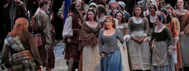 Joyce DiDonato and Lawrence Brownlee join forces La Donna del Lago, a Rossini opera of bel canto virtuosity. Book tickets for La Donna del Lago here.