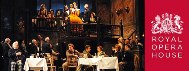 Puccini's opera La Boheme on Royal Opera House in London. Book your tickets to La Boheme in London here!