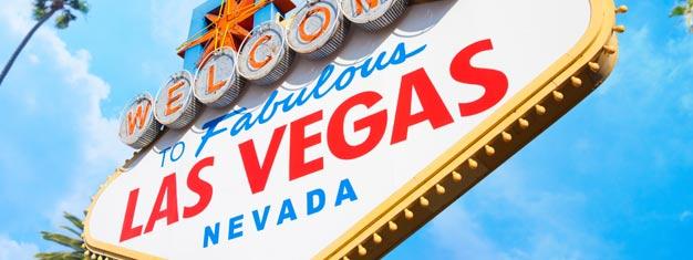 """Kommen Sie mit auf eine Tour entlang des berühmten Las Vegas Strip! Halt am berühmten """"Welcome to Las Vegas"""" Schild für Fotos und ein Toast mit Champagner, genießen Sie eine fantastische Wasser-Fontänen-Show und mehr."""