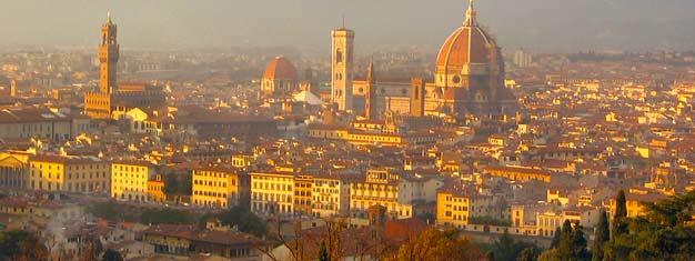 Trova i tuoi biglietti per quasi qualunque attrazione possibile e per ogni giro turistico a Firenze. Abbiamo quel che serveper rendere il tuo viaggio estremamente speciale. Prenota online!
