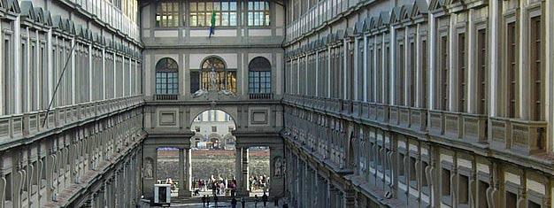 Uffizin taidegalleria on yksi maailman vanhimmista ja suurimmista taidemuseoista ja Firenzen ehdoton kohokohta. Varaa lippusi etukäteen!