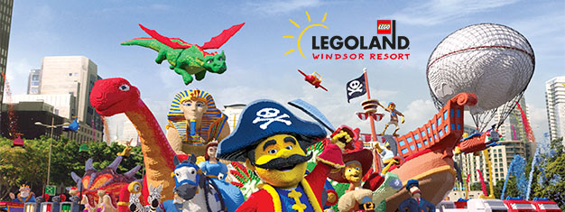 Buy tickets to LEGOLAND® Windsor Resort near London here. Enjoy LEGOLAND® near London with over 55 rides and attractions!