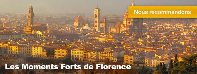 Cette visite constitue la parfaite présentation de l'une des plus belle ville en Europe notamment connue pour son architecture Baroque. Votre guide bien avisé vous accompagnera dans une visite à pieds pour découvrirFlorence.