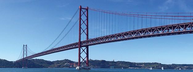 Tag på et afslappende og idyllisk cruise rundt i Lissabon & beundre monumenterne og seværdighederne fra floden. Hotelafhentning inkl. Bestil online!