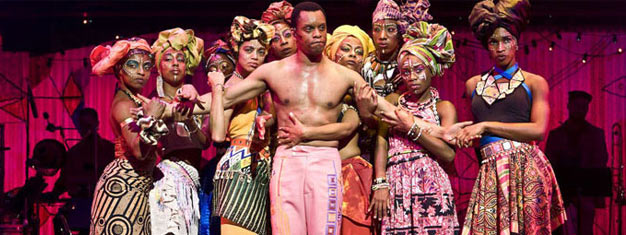 See FELA! in London. Dance, theatre and music at Olivier theatre in London. Buy tickets here!