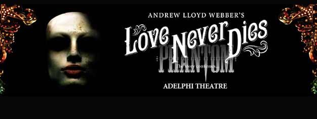 """تتابع مسرحية """"""""لف نفر دايز"""" (الحب لا يموت أبدا) قصة  فانتوم أوف ذا أوبرا""""  (أو شبح الأوبرا). تباع تذاكر مسرحية أندرو لويد ويبر في لندن هنا! Love Never Dies, Phantom of the Opera, Andrew Lloyd Webber"""