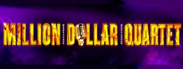 Un gran éxito en Broadway y en Chicago, MILLION DOLLAR QUARTET por fin abre en Londres. Consigue aquí entradas para MILLION DOLLAR QUARTET en Londres!